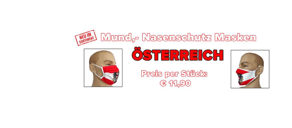 Produkt Bild Mund Nasenschutz Masken Österreich