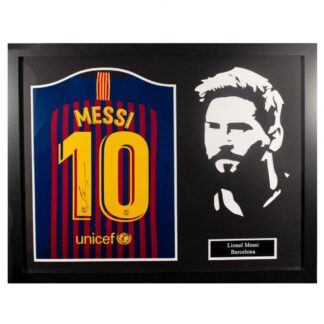 Produkt Bild FC Barcelona signiertes Messi Trikot