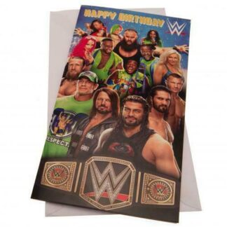 Produkt Bild WWE Geburtstagskarte ST