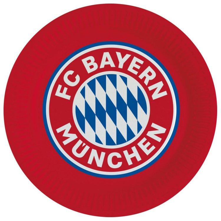 Produkt Bild FC Bayern München Pappteller