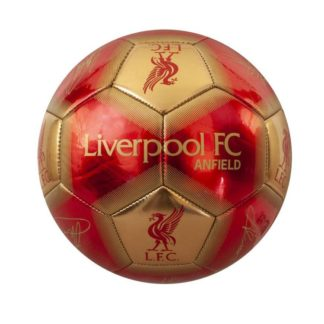 Produkt Bild Liverpool FC Ball Unterschriften GB - Gr.1