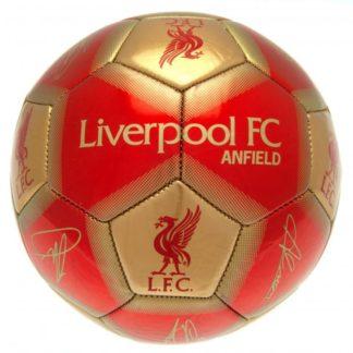 Produkt Bild Liverpool FC Ball Unterschriften GB