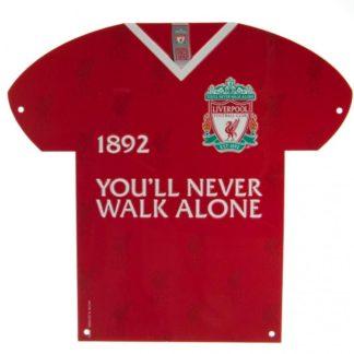 """Produkt Bild Liverpool FC Blechschild """"CR"""""""