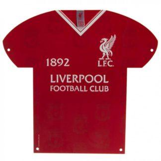 """Produkt Bild Liverpool FC Blechschild """"LB"""""""