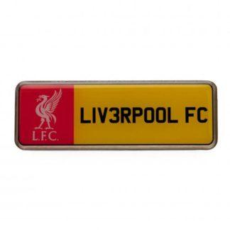 "Produkt Bild Liverpool FC Pin ""Nummernschild"""