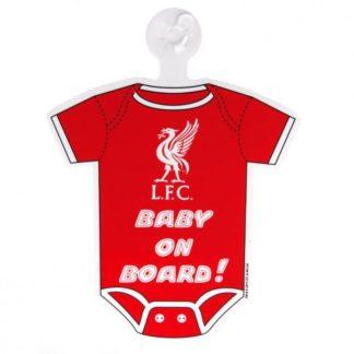 """Produkt Bild Liverpool FC Schild """"Baby on Board"""""""