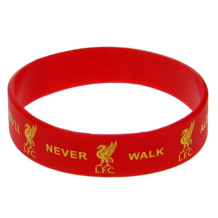 Schwarzes Inlay Armband Liverpool F.C