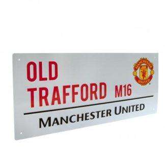 Produkt Bild Manchester United Strassenschild