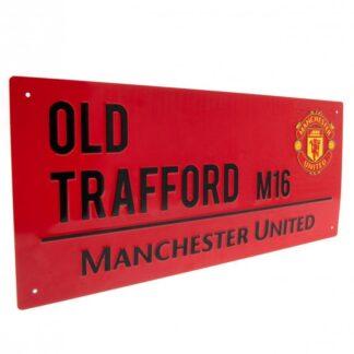 Produkt Bild Manchester United Strassenschild RD