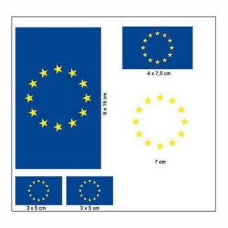 Produkt Bild Europäische Union Aufkleber Set