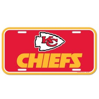 Produkt Bild Kansas City Chiefs Nummernschild