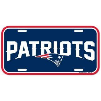 Produkt Bild New England Patriots Nummernschild