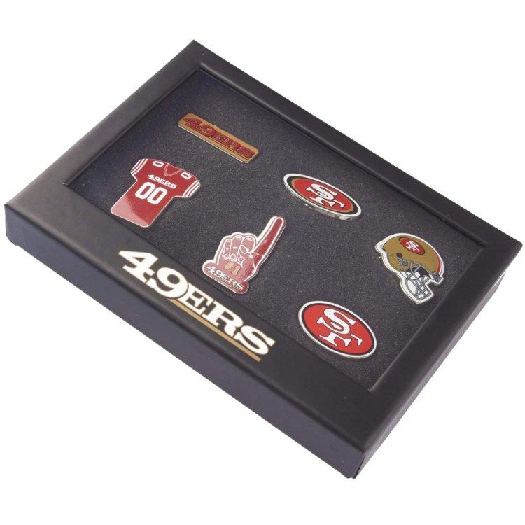 Produkt Bild San Francisco 49ers 6er Pinset