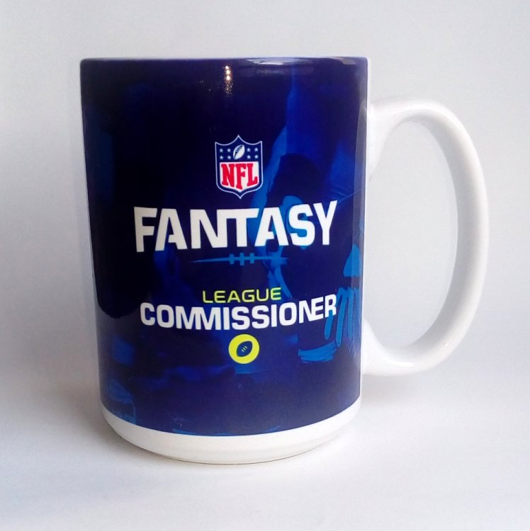 "Produkt Bild Fantasy Football Tasse ""Commissioner"""