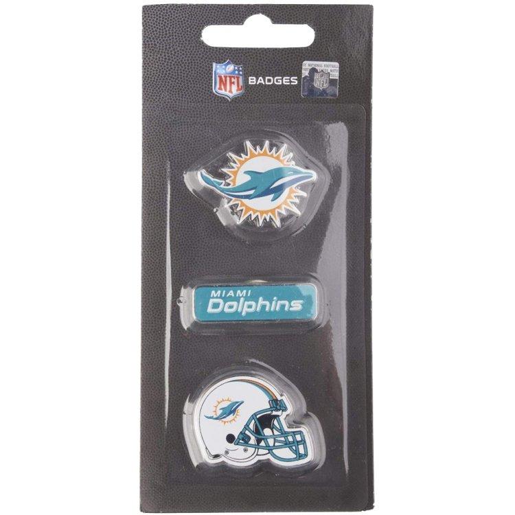 Produkt Bild Miami Dolphins 3er Pinset