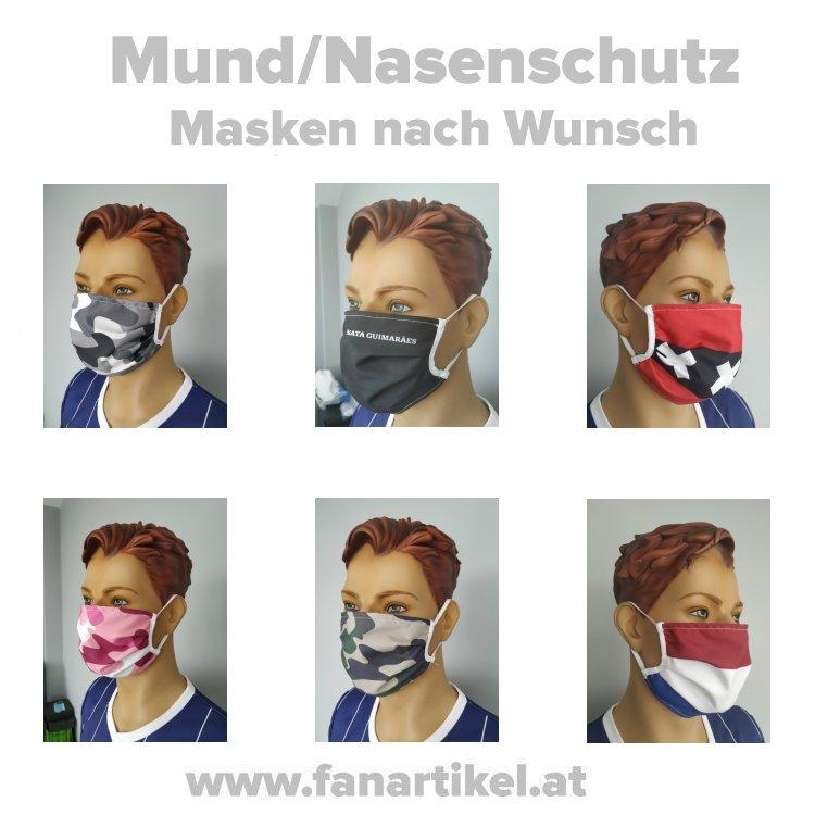 Produkt Bild Mund/Nasenschutz Masken (bedruckt)