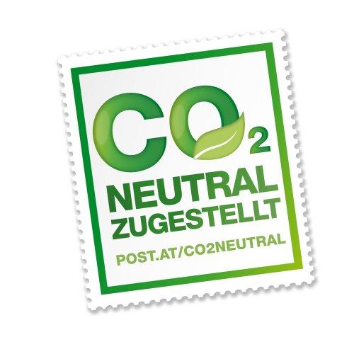 Logo für CO2 neutral zugestellt