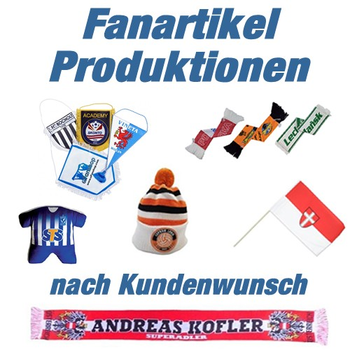 Slider Bild für mobile Geräte - Fanartikel Produktion